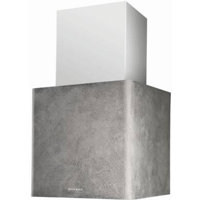 Faber H430xW450xD380 Lithos  Wall Mounted Hood - Concrete