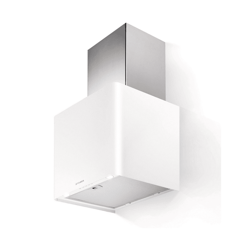 Faber H430xW450xD380 Lithos Wall Mounted Hood - White primary image