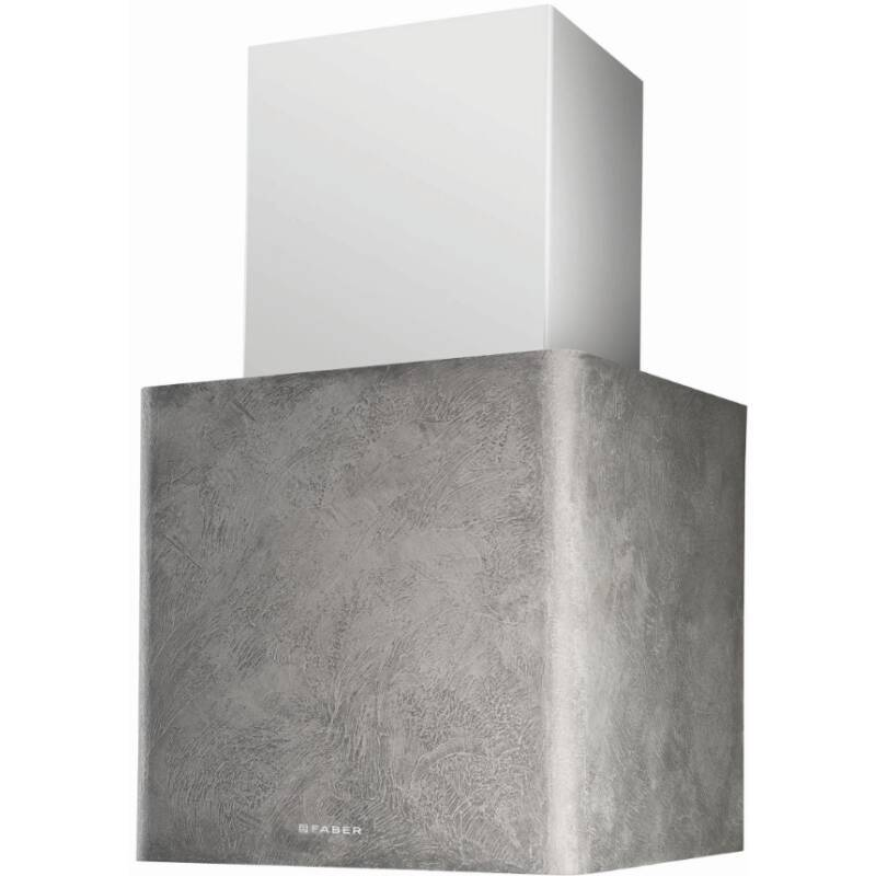 Faber H450xW430xD380 Lithos Wall Mounted Hood - Concrete primary image