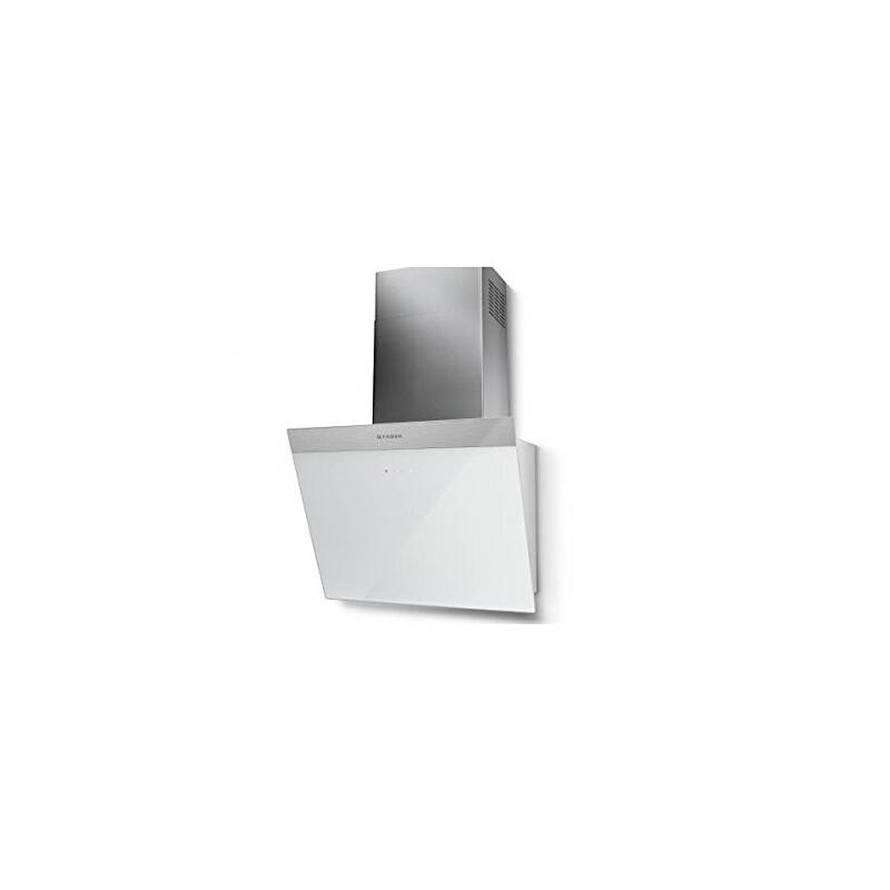Faber H450xW548xD378 Daisy Wall Mounted Hood White Glass primary image