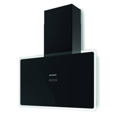 Faber H470xW798xD190 Glam Fit Wall Mounted Cooker Hood - Black