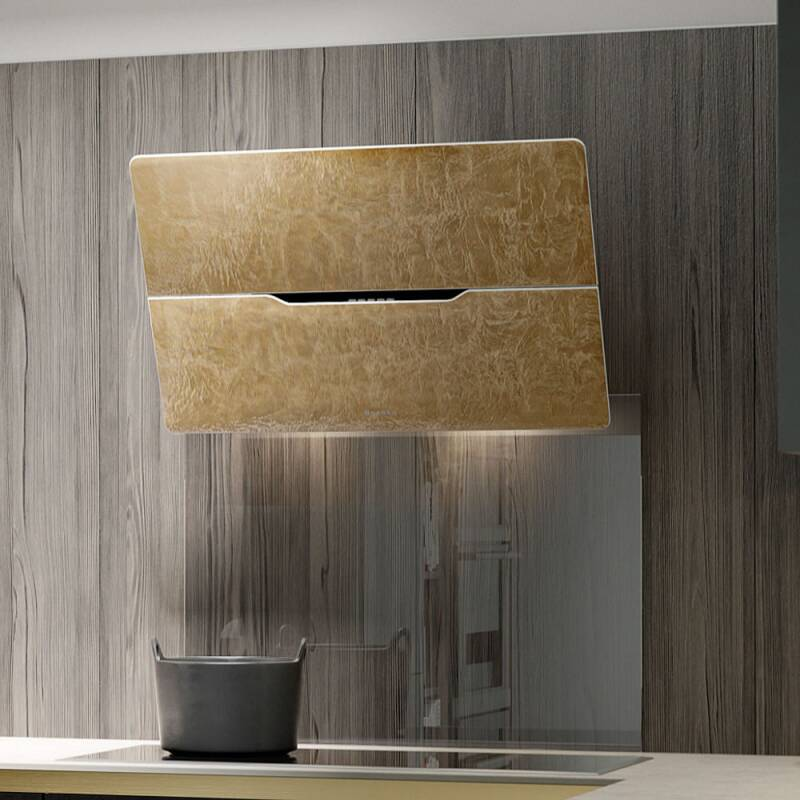 Faber H512xW798xD393 Jolie Wall Mounted Hood - Gold Leaf additional image 2