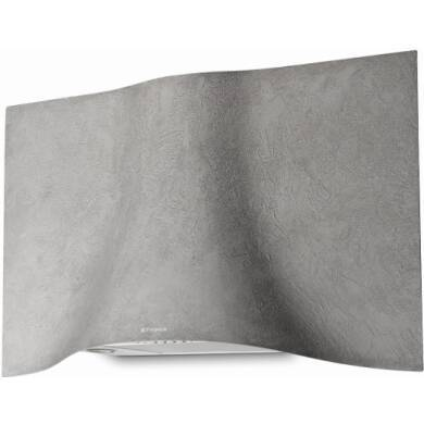 Faber H573xW898xD361 Veil Wall Mounted Cooker Hood - Concrete