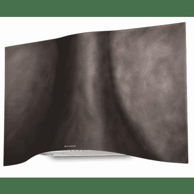 Faber H573xW898xD361 Veil Wall Mounted Cooker Hood - Tibetan Silver