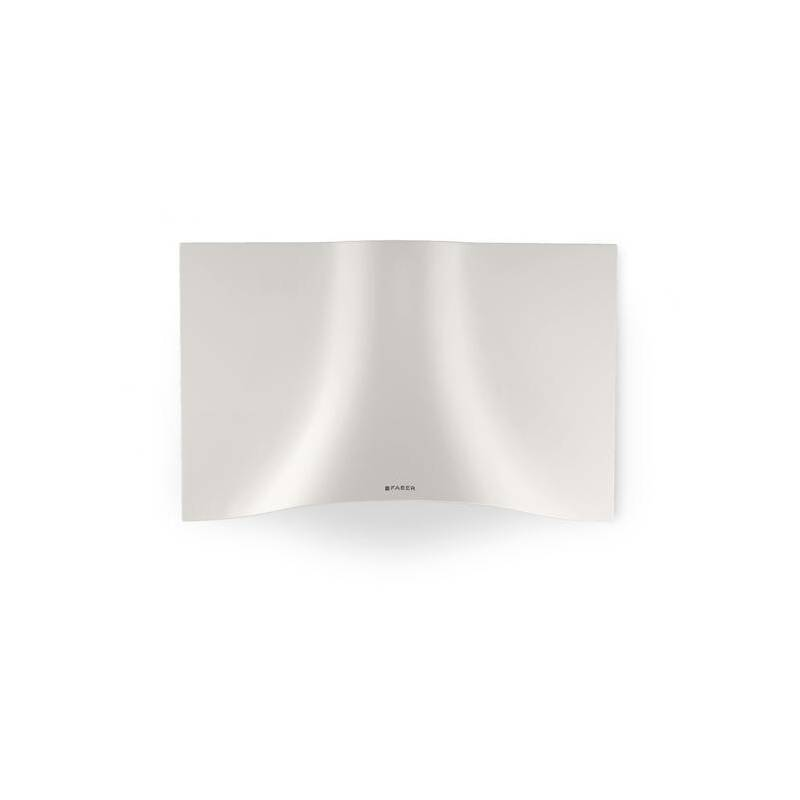 Faber H573xW898XD361 Veil Wall-mounted Cooker Hood - White primary image
