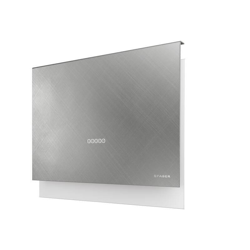 Faber H635xW798xD240 Talika Wall Mounted Cooker Hood - Cross Titanium primary image