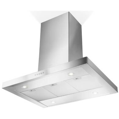 Faber H760xW900xD600 Stilo Isola Island Hood - Stainless Steel