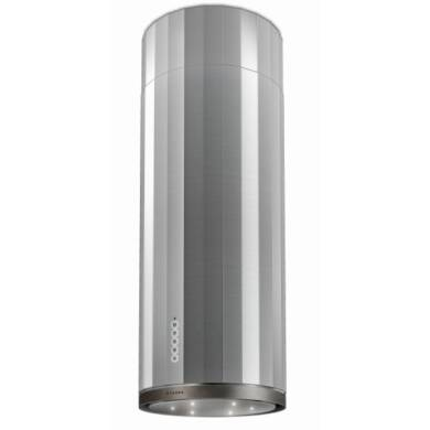 Faber H770xW370xD370 Corinthia Island Cooker Hood - Stainless Steel / Old Metal