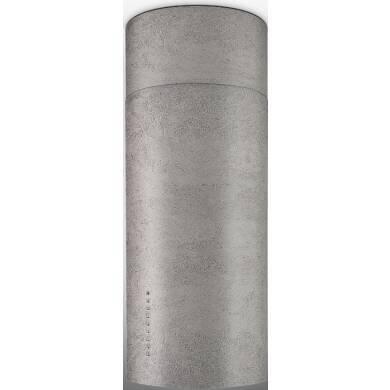 Faber H770xW370xD370 Cylindra Isola Island Hood - Concrete