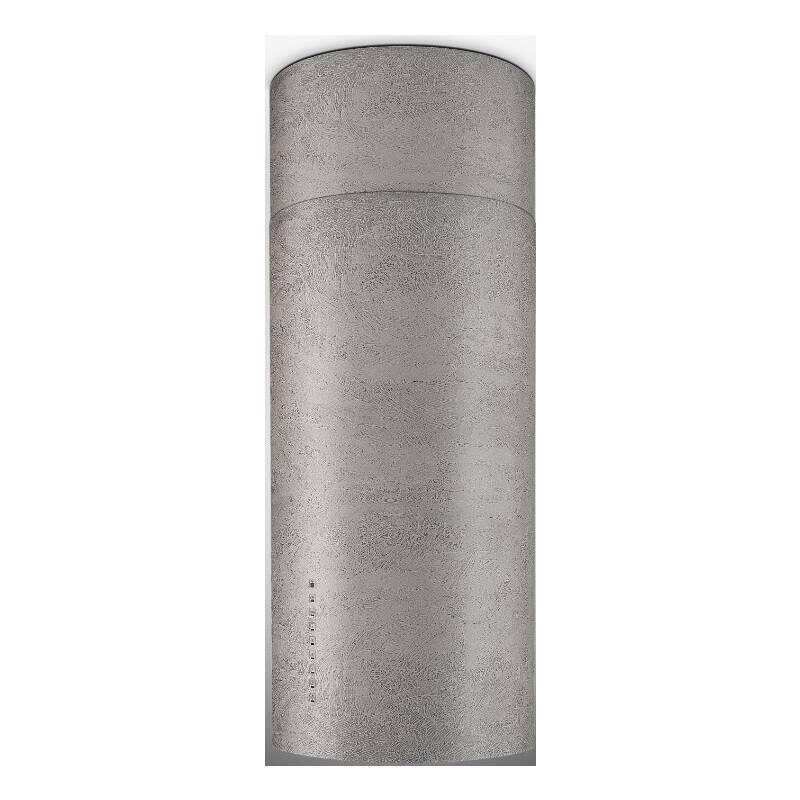 Faber H770xW370xD370 Cylindra Isola  Island Hood - Concrete primary image