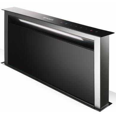 Faber H880xW794xD353 Fabula  Downdraft Hood - Black Glass
