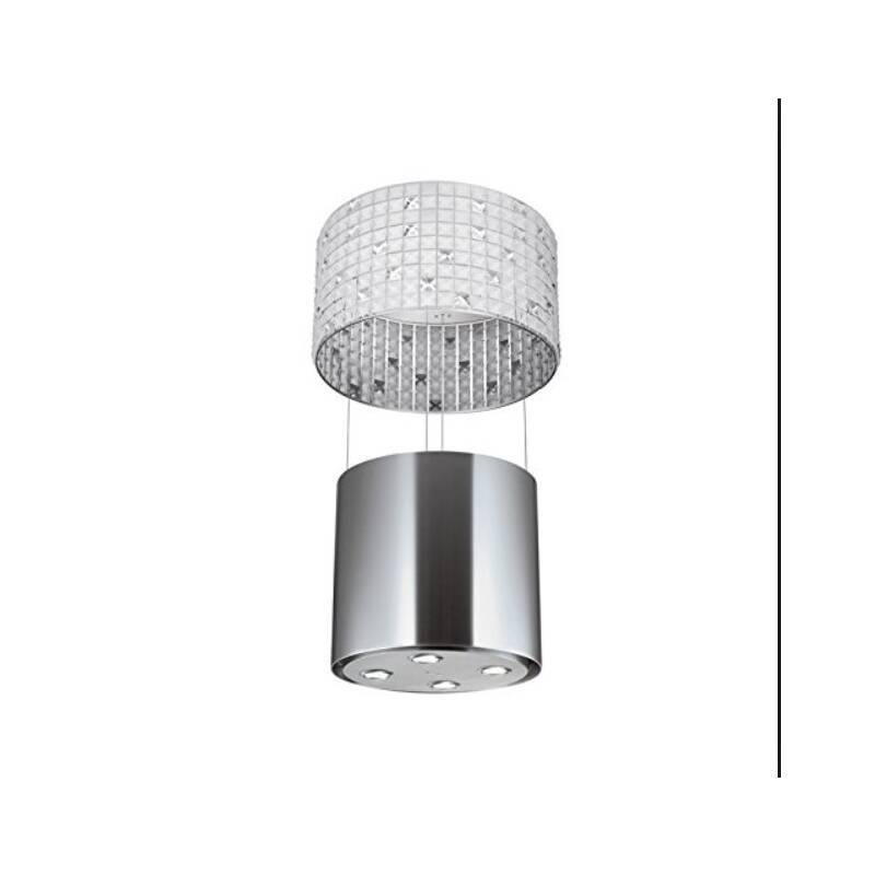 Faber Luxia 530mm Island Hood Stainless Steel and Glass primary image