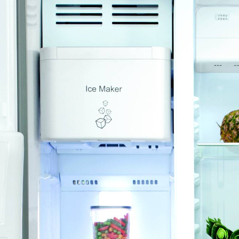 H1820XW908XD690 Side by side American style fridge freezer additional image 3