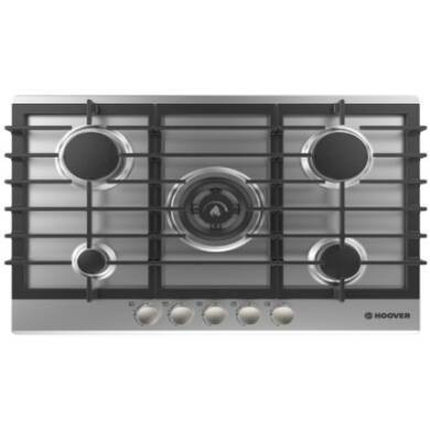 Hoover H35xW745xD510 5 Burner Hob with Wok