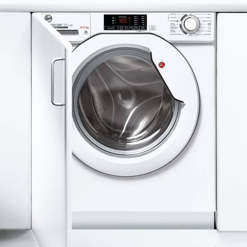 Hoover H820xW600xD525 Integrated Washer Dryer (8kg) additional image 3