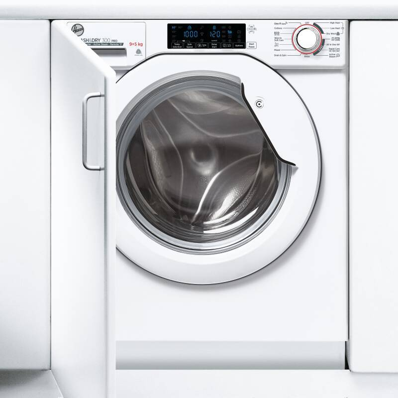 Hoover H820xW600xD525 Integrated Washer Dryer (9kg) additional image 2