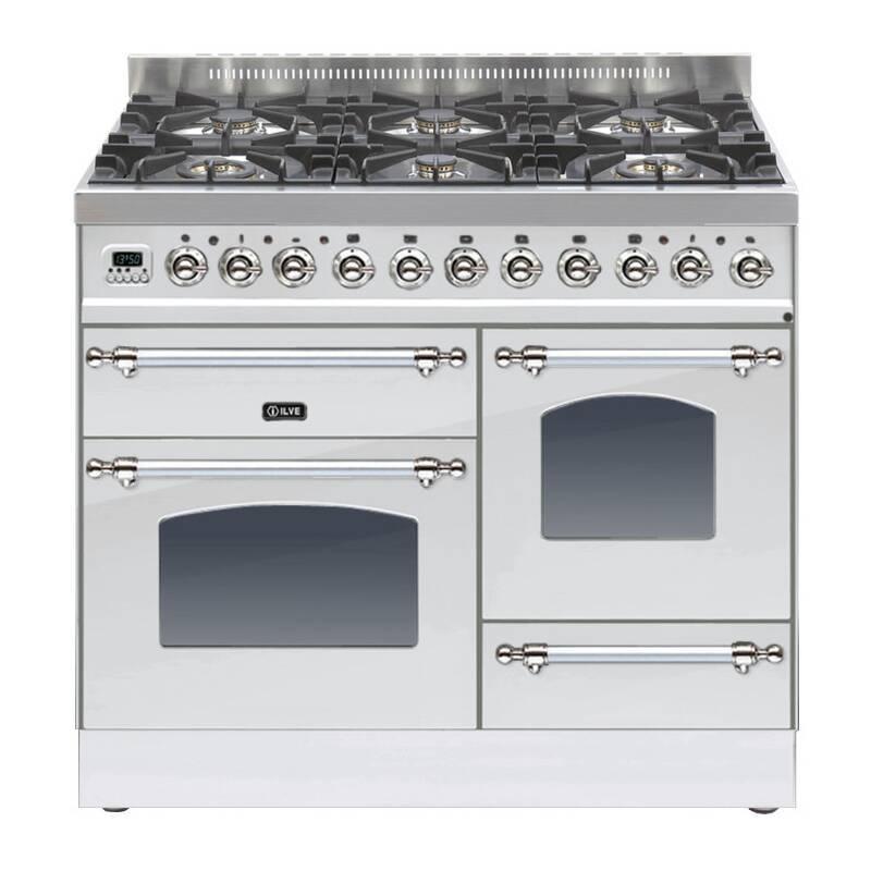 ILVE Milano 100cm XG Range Cooker 6 Burner Stainless Steel Chrome primary image