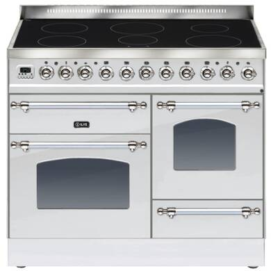 ILVE Milano 100cm XG Range Cooker 6 Zone Induction Stainless Steel Chrome
