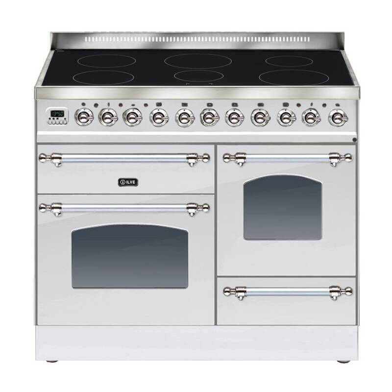 ILVE Milano 100cm XG Range Cooker 6 Zone Induction Stainless Steel Chrome primary image