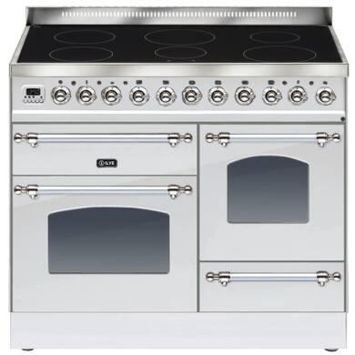 ILVE Milano 100cm XG Range Cooker 6 Zone Induction Stainless Steel Chrome - PTNI100E3/IX