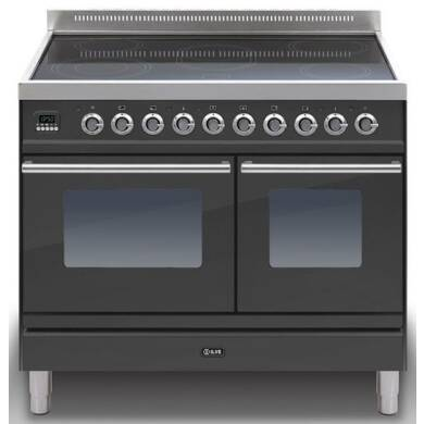 ILVE Roma 100 Twin 6 Zone Induction Black Mt