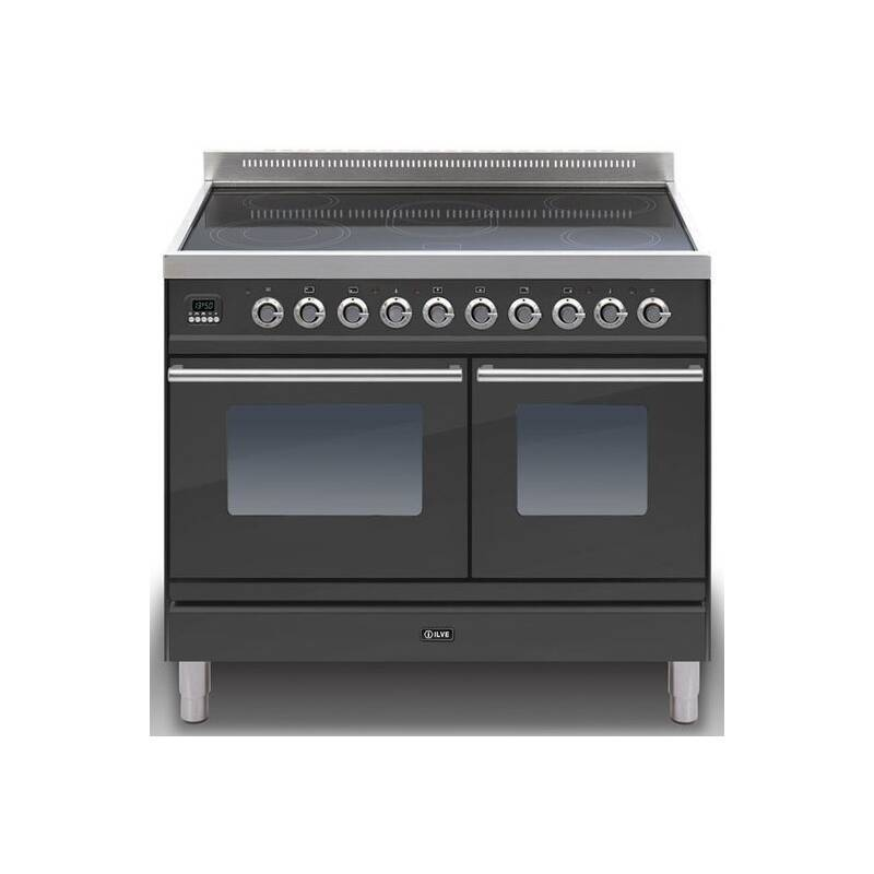 ILVE Roma 100 Twin 6 Zone Induction Black Mt primary image