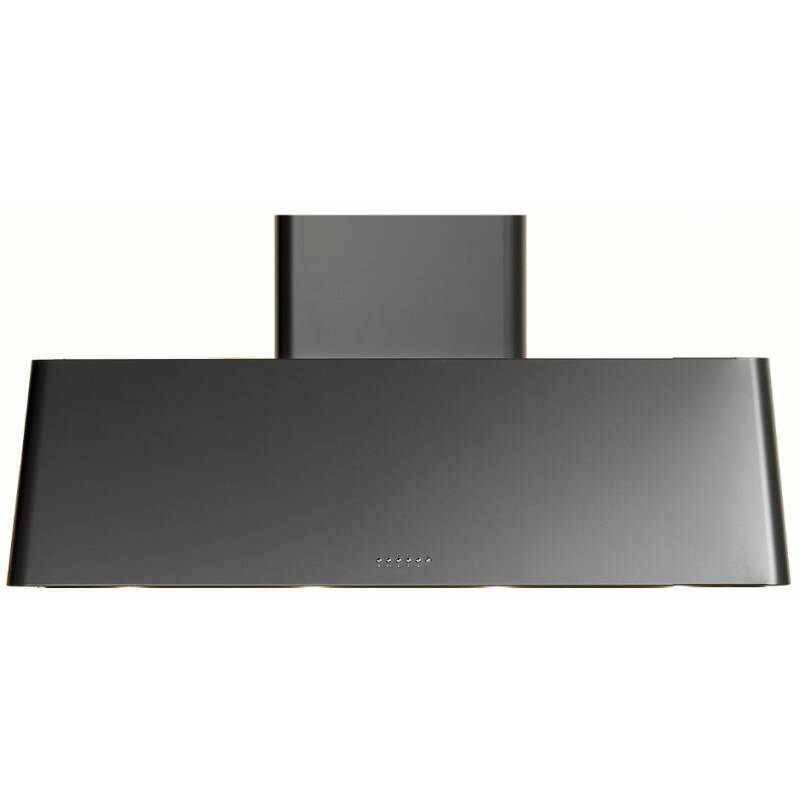Ilve Roma 100cm Chimney Hood Black Matt - AG100/M primary image