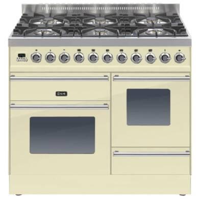 ILVE Roma 100cm XG 6 Range Cooker Burner Cream - PTW1006E3/A