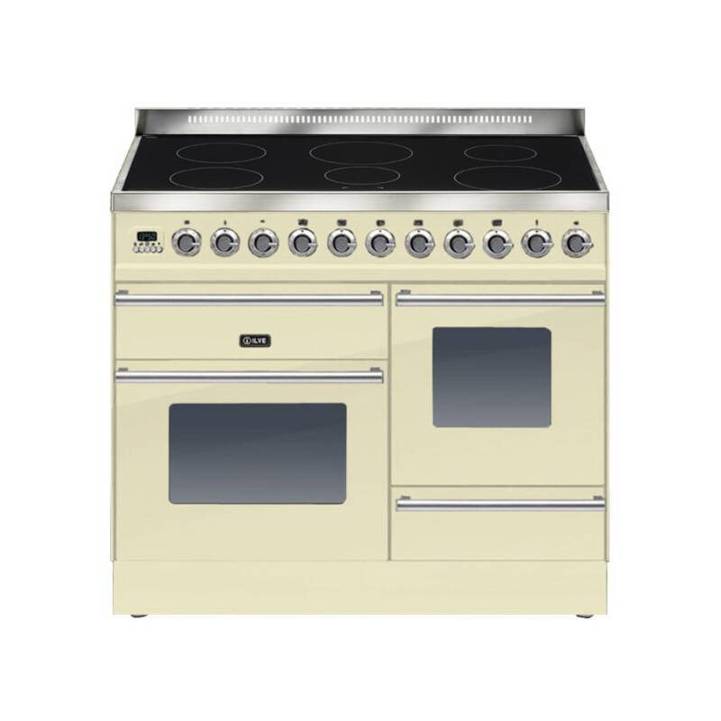 ILVE Roma 100cm XG Range Cooker  6 Zone Induction Cream - PTWI100E3/A primary image