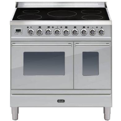 ILVE Roma 90 Twin 5 Zone Induction S/Steel
