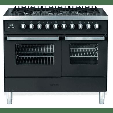 Ilve Venezia 100cm Twin Range Cooker 6 Burner Gloss Black