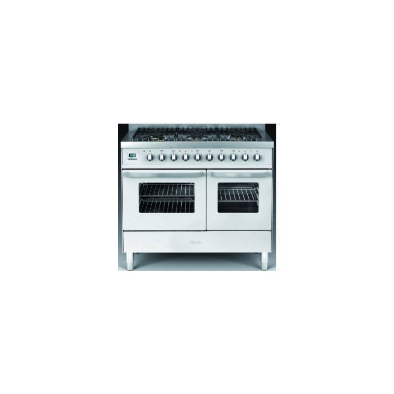 Ilve Venezia Dual Fuel 100 Twin 6 Burner S/Steel additional image 1