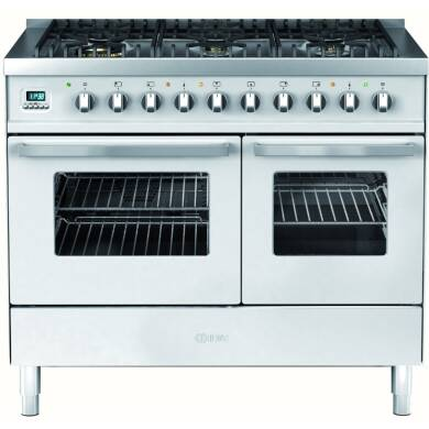 Ilve Venezia Dual Fuel 100 Twin 6 Burner S/Steel