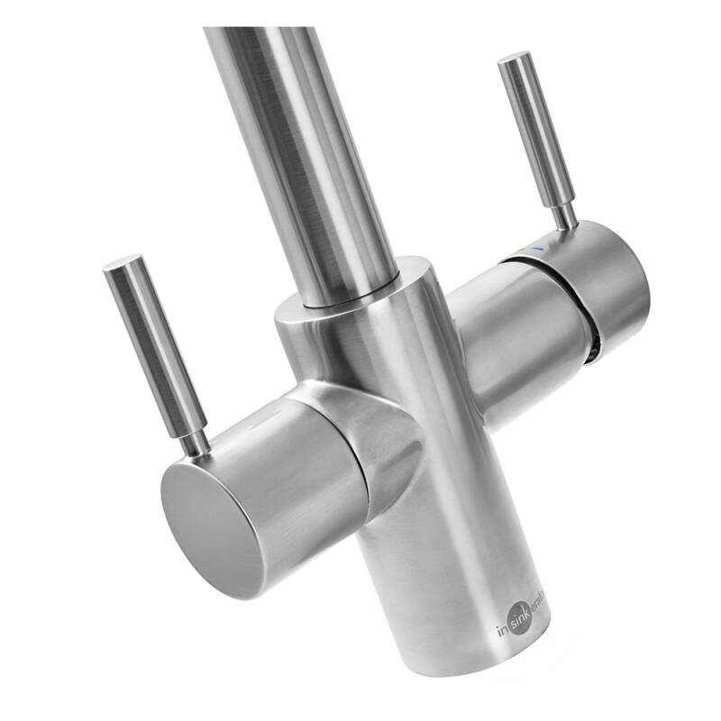 Insinkerator 3N1 Hot Water Tap Brushed Steel additional image 3