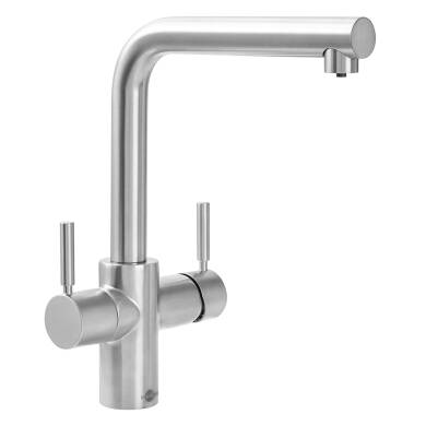 Insinkerator 3N1 Hot Water Tap Brushed Steel