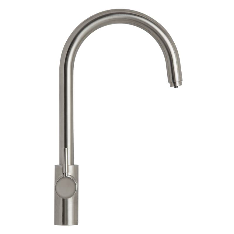 Insinkerator 3N1 Swan Neck Hot Water Tap Brushed Steel additional image 9
