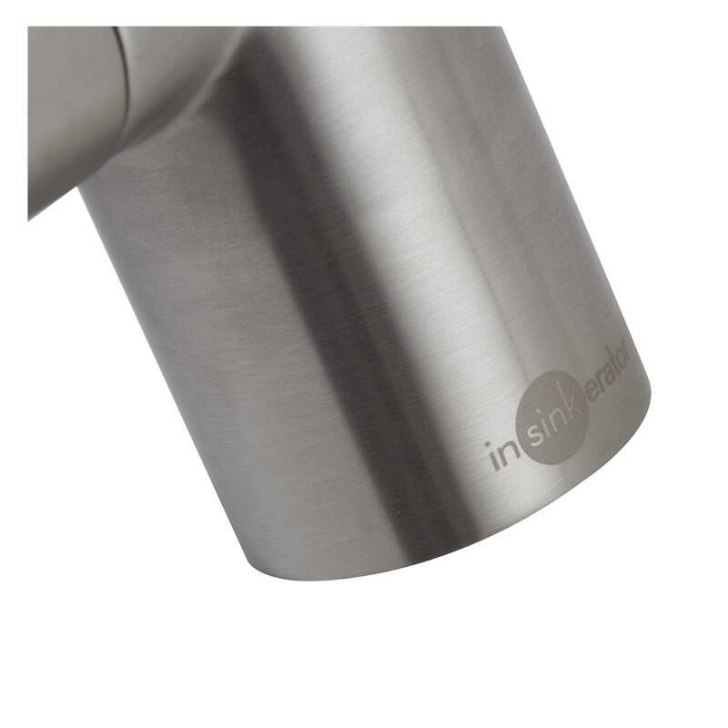 Insinkerator 3N1 Swan Neck Hot Water Tap Brushed Steel additional image 5