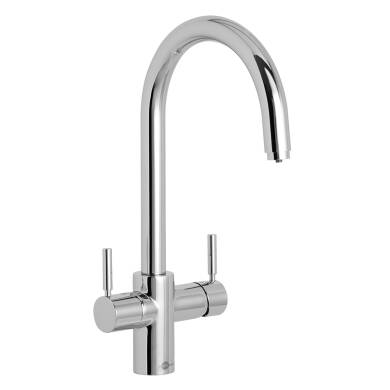 Insinkerator 3N1 Swan Neck Hot Water Tap Chrome