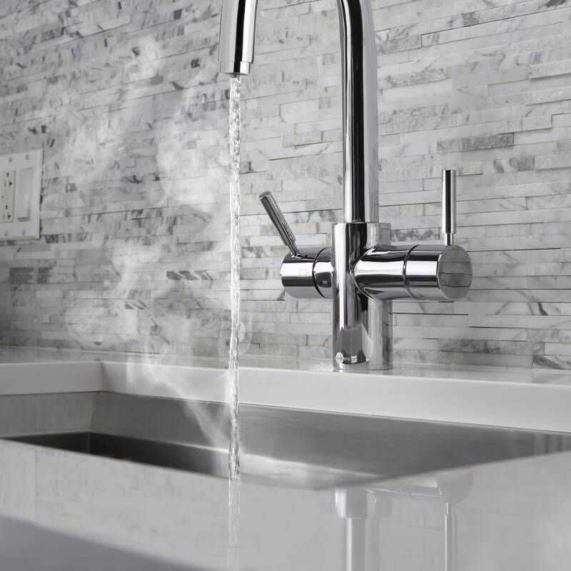Insinkerator 3N1 Swan Neck Hot Water Tap Chrome additional image 7