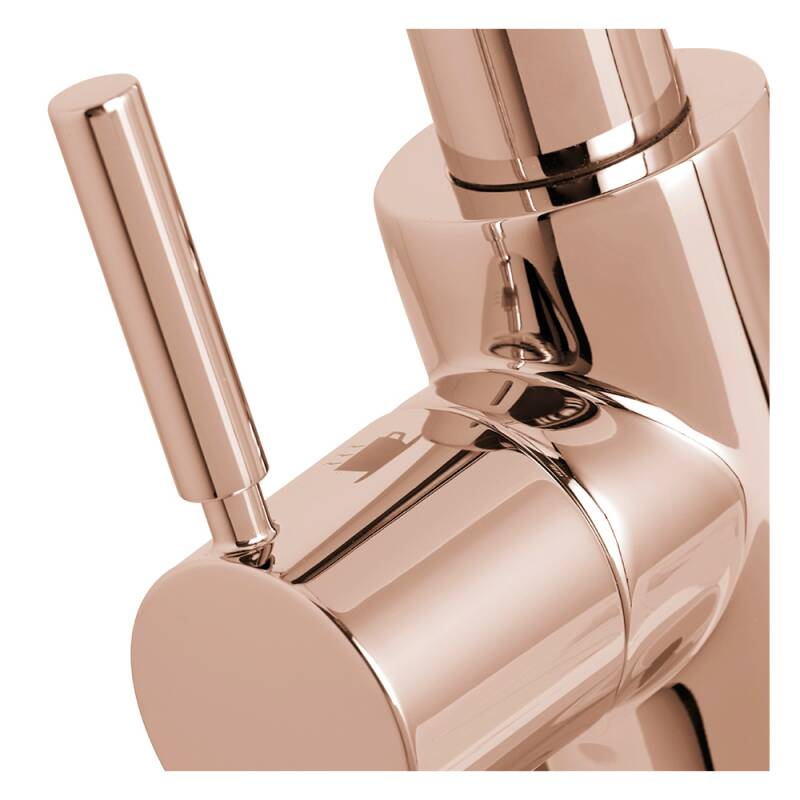 Insinkerator 3N1 Swan Neck Hot Water Tap Rose Gold additional image 2