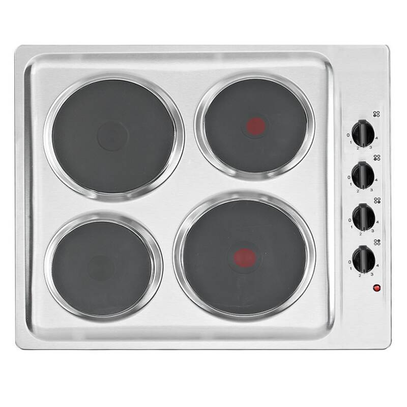 Matrix H38xW585xD500 Solid Plate Hob - Stainless Steel primary image
