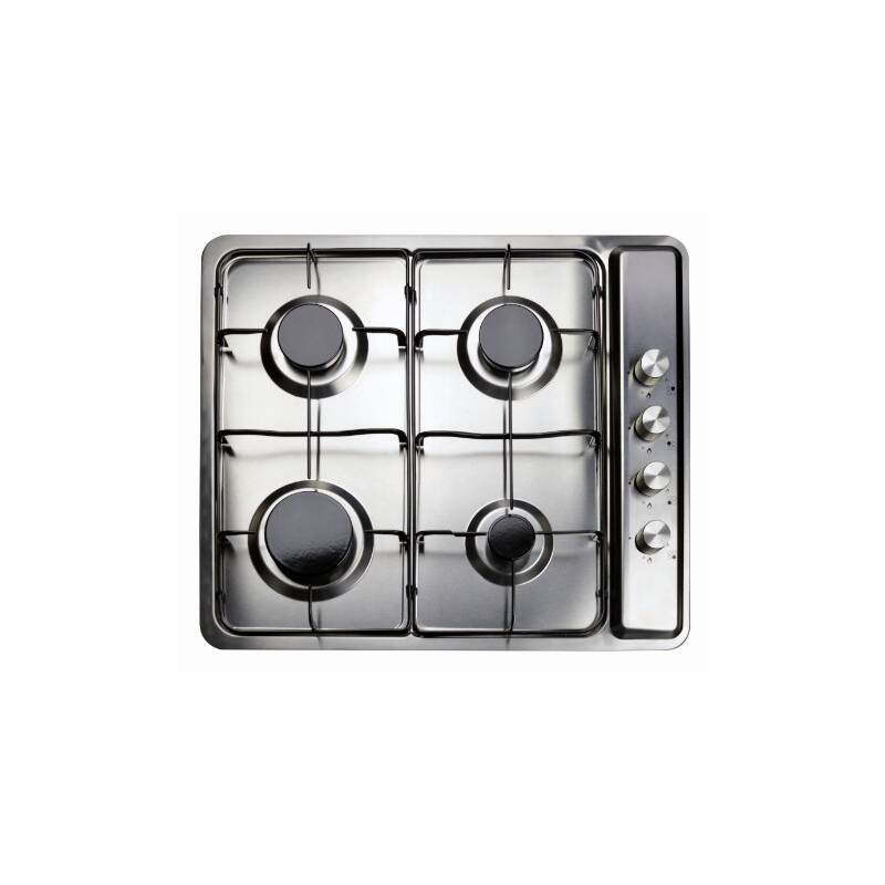 Matrix H45xW580xD500 4 Zone Gas Hob - Stainless Steel primary image