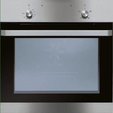 Matrix H595xW595xD575 Single Fan Oven - Black