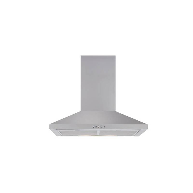 Matrix H686xW600xD490 Chimney Cooker Hood - Stainless Steel primary image