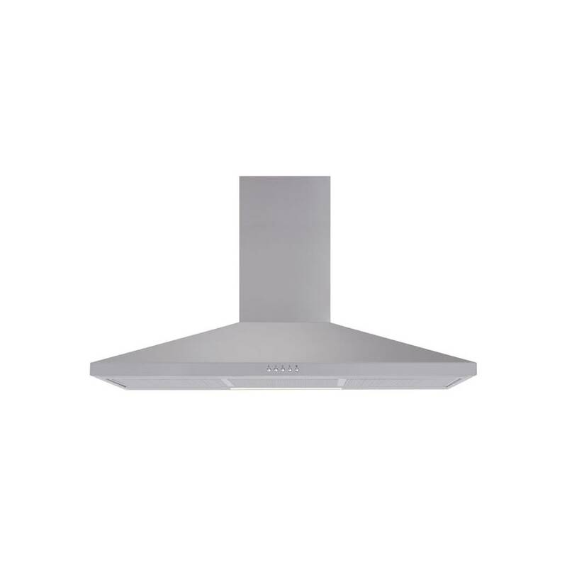 Matrix H686xW900xD490 Chimney Cooker Hood - Stainless Steel primary image
