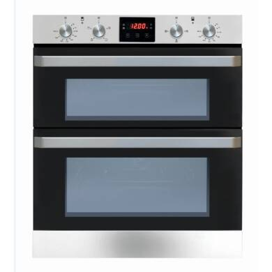 Matrix H720xW595xD558 Built Under Electric Double Oven - Black