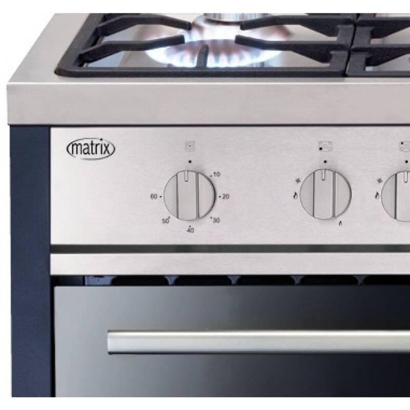 Matrix H900xW900xD600 All Gas Single Cavity Rangecooker - Stainless Steel additional image 2