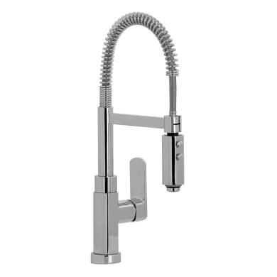Medusa Pull Out Tap Chrome - High Pressure Only