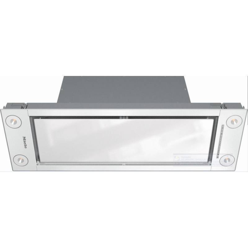 Miele H171xW880xD293 Canopy Hood - External Motor Version - Brilliant White primary image