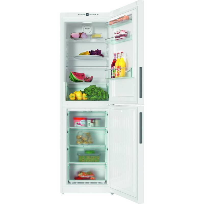 Miele H2011xW600xD655 Freestanding Fridge Freezer - White primary image